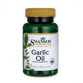 Fokhagymaolaj kapszula (Swanson) 250 db - Vitaminkirály