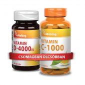 C+D vitamin csomag - az immunrendszer normál működéséért