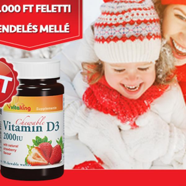 Ajándék D-vitamin a rendelése mellé