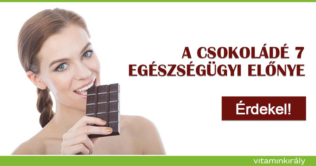 A csokoládé 7 egészségügyi előnye - Egészséges és finom :)