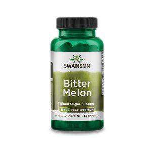 Swanson Keserű Dinnye kapszula 500mg (Bitter Melon)